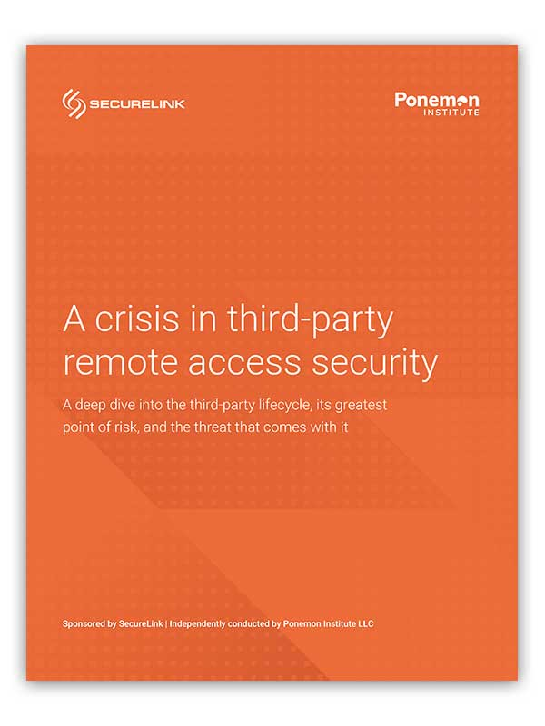 A crisis in third-party remote access security