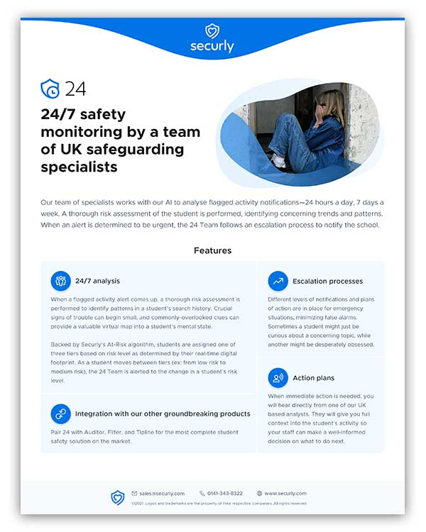 Securly 24 Product Brief