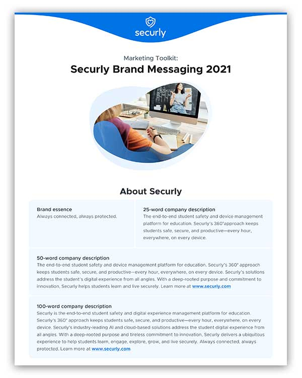 Securly Brand Messaging