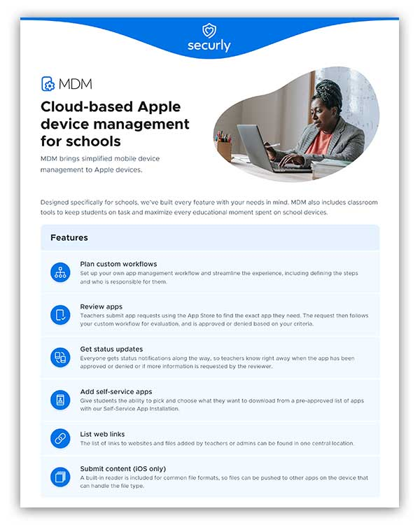 Securly MDM Product Brief