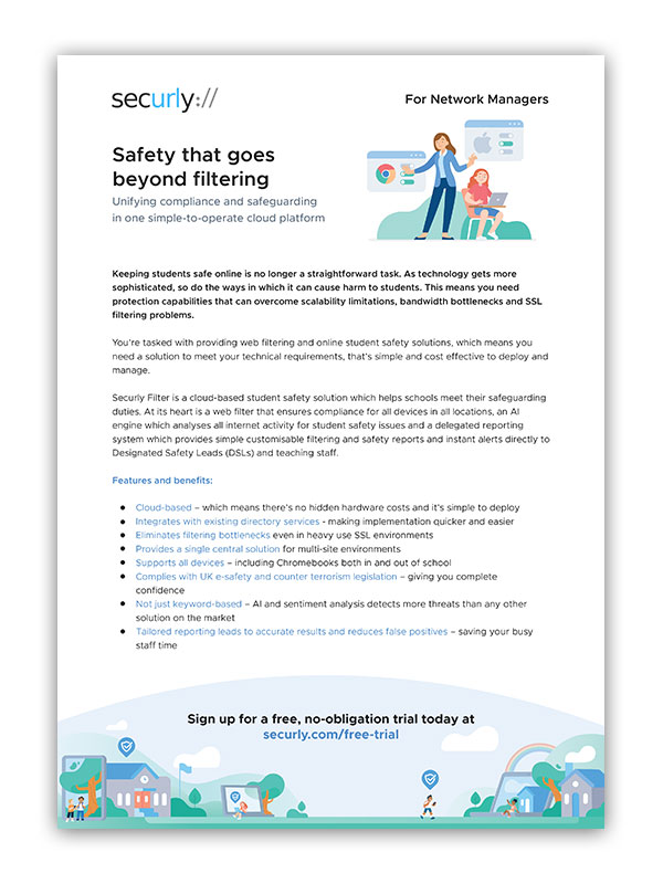 securly brochure for network managers